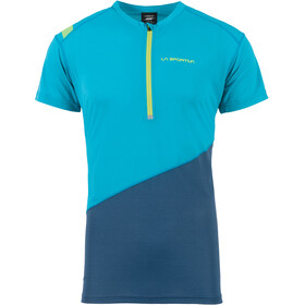 La Sportiva Limitless - Camiseta Running Hombre - azul/Turquesa